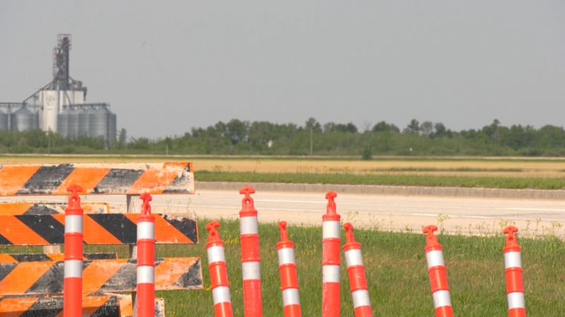 The province announced on Friday that major construction is set to start on Monday July 26, and will be in place until October.