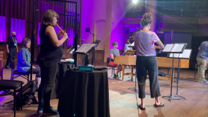 Chamberfest has returned, playing to a maximum of 120 people at the Carleton Dominion Chalmers Centre. (Jackie Perez/CTV News Ottawa)