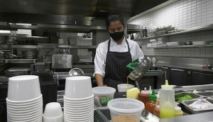 Restaurants are struggling to hire staff as business returns to normal.