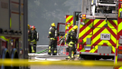 House fire in Surrey
