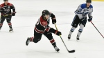 Calgary Flames chose right winger Matthew Coronato with their first-round pick Friday night