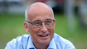 Nova Scotia NDP Leader Gary Burrill is heading to the Halifax area today for an announcement on climate change. (Photo: THE CANADIAN PRESS/Andrew Vaughan)