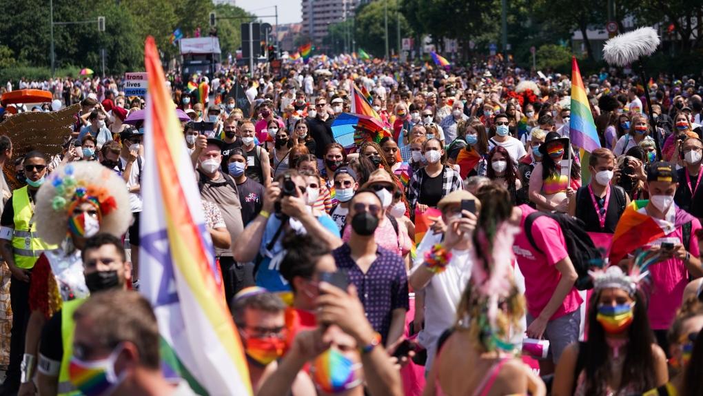 Berlin pride 2021