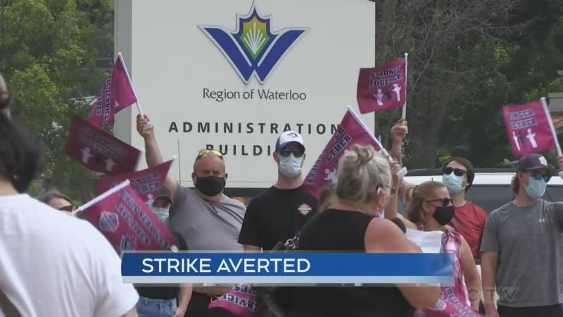 strike averted