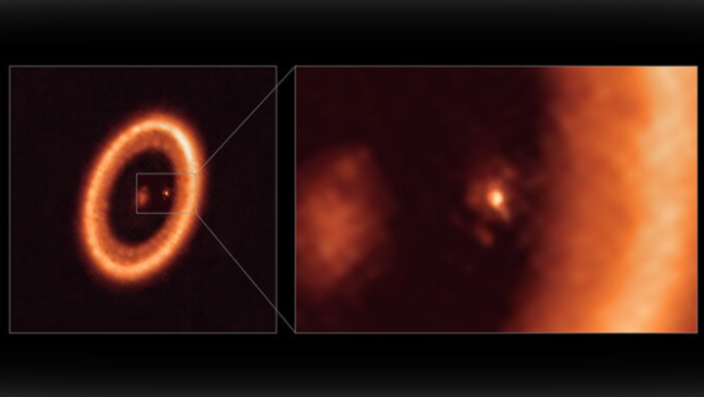 Exoplanet PDS 70c
