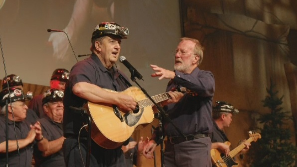 Cape Breton's 'Men of the Deeps' are mourning the loss of one of their strongest voices. Yogi Muise, who was 85, was a member of the singing miners' choir for more than 50 years. (Photo courtesy: Jenn Sheppard)