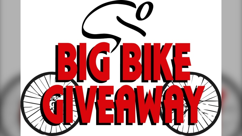 Big Bike Giveaway in London, Ont. (Source: Big Bike Giveaway)