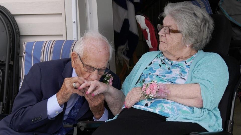 Al and Evelyn Hillman