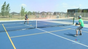 New Sage Creek tennis courts ready for players