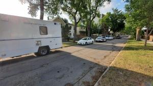Winnipeg police told CTV News a man was found unconscious in the 400 block of Toronto Street around 2 a.m. on Saturday. (Source: Dan Timmerman/ CTV News Winnipeg)