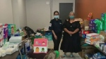 Bloodvein residents collect donations for evacuees