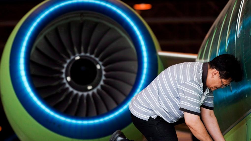 Bombardier Global business jet