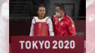 Winnipeg's Skylar Park lost to Taiwan's Chia-Ling Lo 18-7 in the women's taekwondo quarterfinal at the Tokyo Olympics on Sunday, July 25, 2021. (Source: Canadian Press)