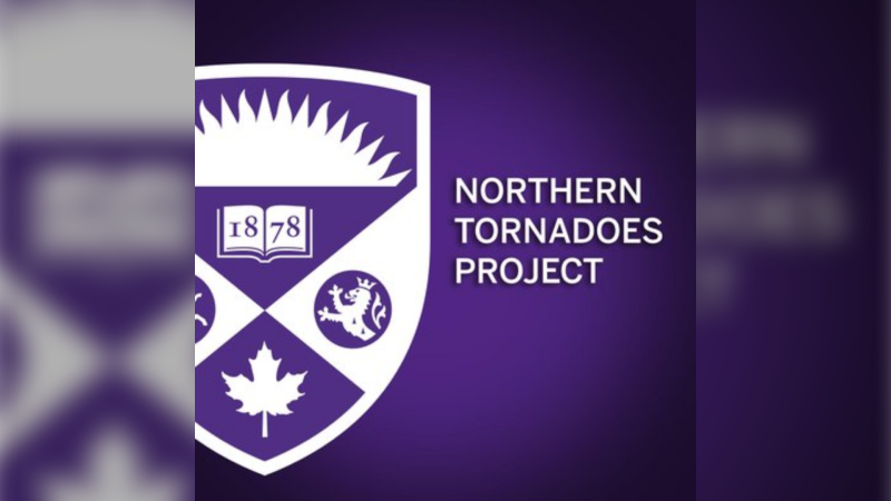 Northern Tornadoes Project logo. (source Northern Tornadoes Project/Twitter)