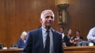 Top infectious disease expert Dr. Anthony Fauci finishes his testimony before the Senate Health, Education, Labor, and Pensions Committee about the status of COVID-19, on Capitol Hill in Washington, Tuesday, July 20, 2021. (AP Photo/J. Scott Applewhite, Pool)