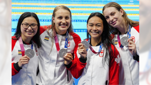 Team Canada wins Silver