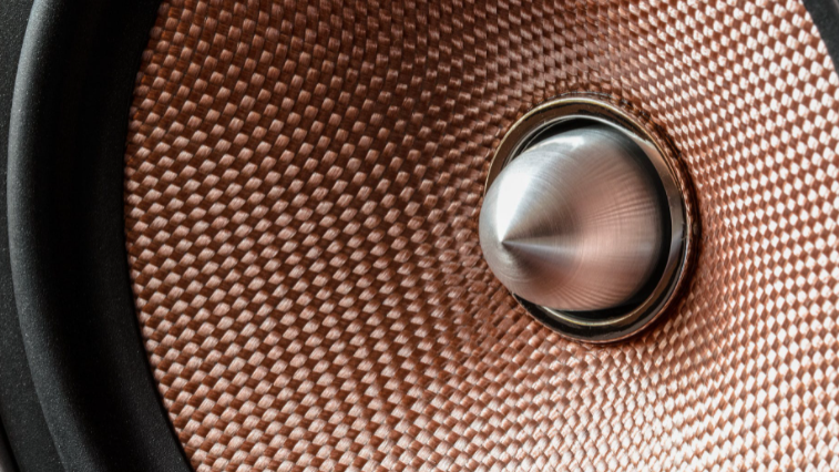 A stock image of a speaker is seen here (Pexels/Pixabay)