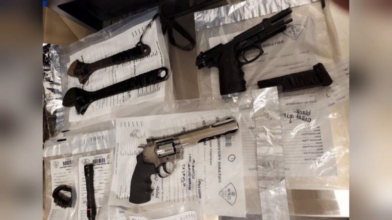 Drugs & weapons seized at Orillia home