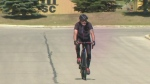 Man battling cancer embarks on 5K cycle trip