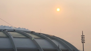 A smog warning has been issued for the Greater Montreal area by Environment Canada.