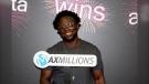 Kofi Adarkwa won $1 million in the June 11 LOTTO MAX draw. (WCLC handout)