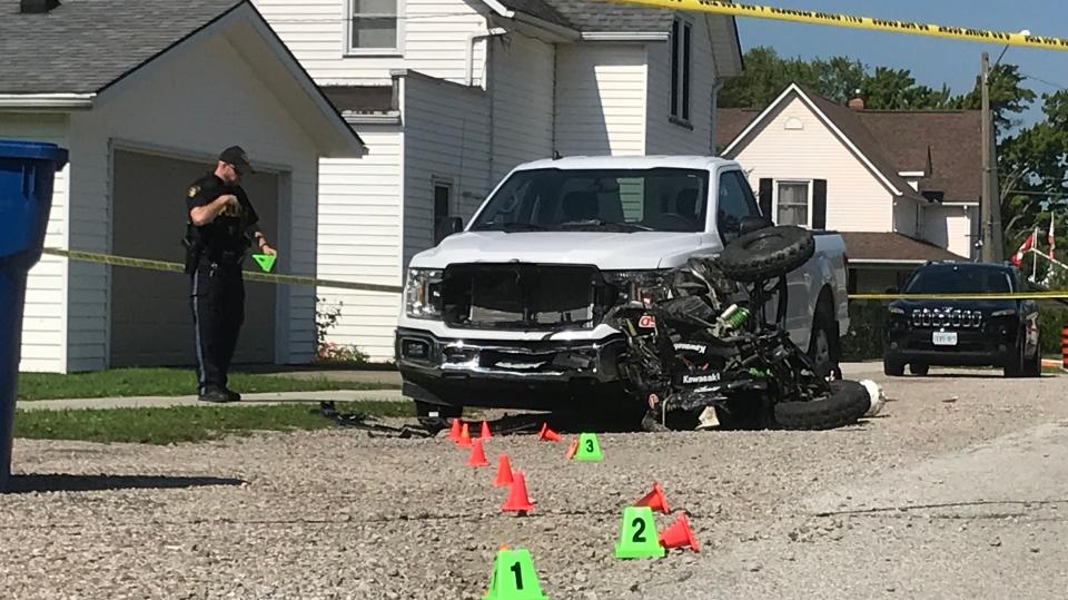 ATV crash