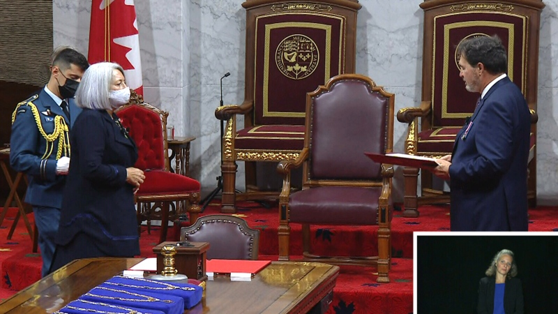 Special coverage as new Governor General installed