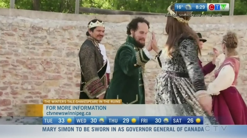 Shakespeare in the Ruins goes digital