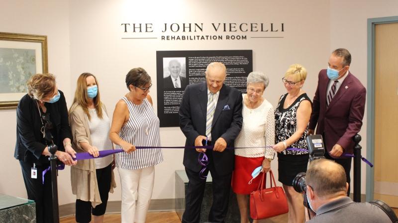 Hôtel-Dieu Grace Healthcare unveils new John Viecelli Rehabilitation Room (Courtesy: Hôtel-Dieu Grace Healthcare)