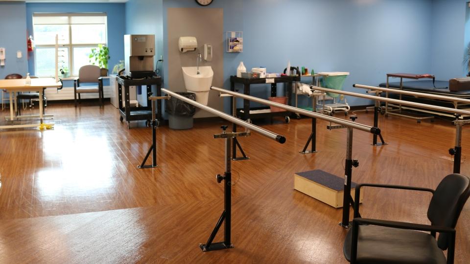 New John Viecelli Rehabilitation Room