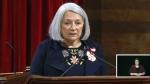 Governor General Mary Simon speaks in Ottawa