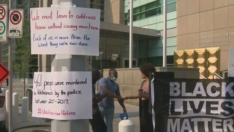 Protesters want police officer fired