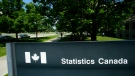 Statistics Canada sign is pictured in Ottawa on Wednesday, July 3, 2019. THE CANADIAN PRESS/Sean Kilpatrick