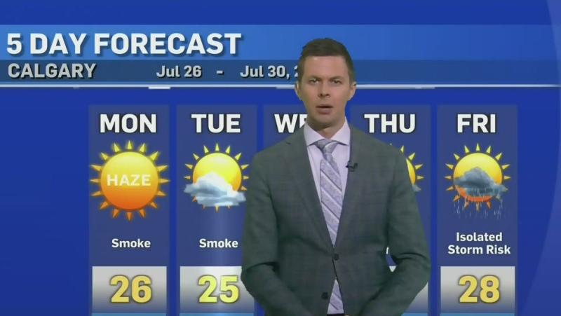 Smoky conditions continue in Alberta