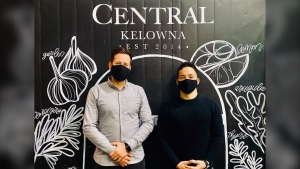 Central, a restaurant and bar in Kelowna, has voluntarily closed for five days after employees tested positive for COVID-19. (Central/Facebook)