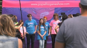 Teens compete in pop culture trivia in new game show currently filming in northern Ontario. July 25/21 (Sergio Arangio/CTV Northern Ontario)
