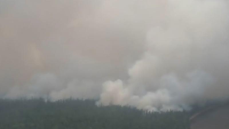 Hazy, smoky skies still lingering