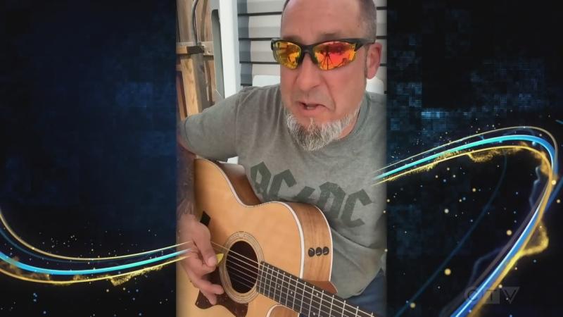 Sudbury musician performs Johnny Cash cover