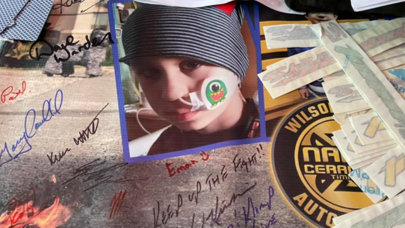 Community of South Porcupine rallying for a 7-year-old northern boy, Seb Proulx, currently fighting brain and spine cancer, led by Timmins Tuners.