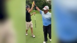 Two golfers score back-to-back hole in ones