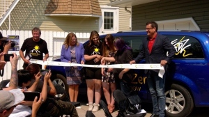 EGADZ opened the doors to Ground Zero on Monday, a youth-led housing project designed to serve at-risk teens.