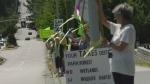 Critics plan legal action over road through park