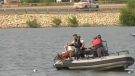 Police search for a man feared to have drowned Monday afternoon at Chestermere Lake