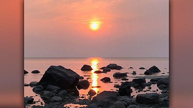 Victoria Beach, Manitoba. Photo by Irene Schwartz. Photo by Irene Schwartz.