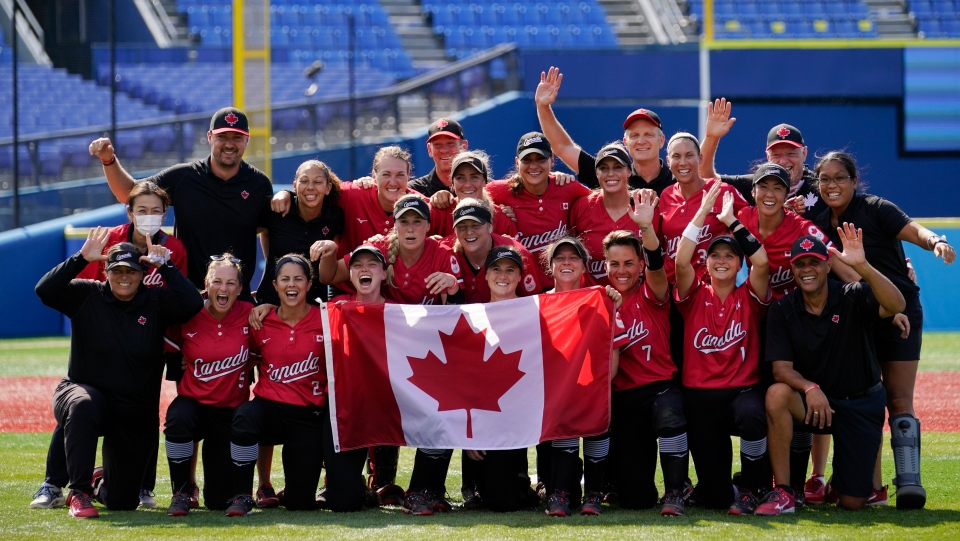 Team Canada softball