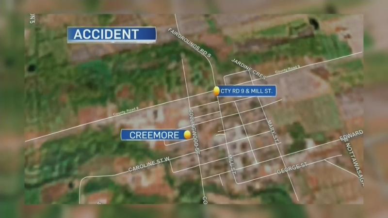 Creemore crash
