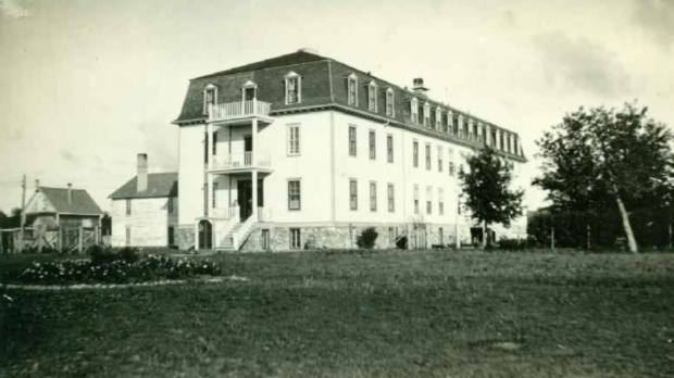 The Fort Alexander Residential School. (Source: University of British Columbia/IRSHDC)