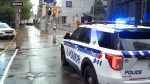Downtown stabbing death