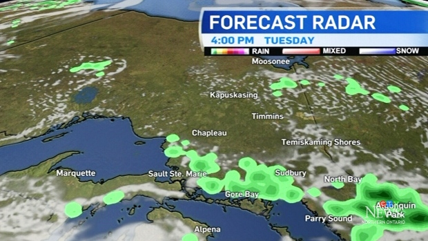 Hazy and humid in the northeast with possible rain