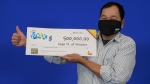 Xuan Nguyen of Windsor, Ont. won $500,000 playing Lotto Max. (Courtesy OLG)